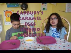 Cadbury Stuffed Crescents | #KidsInTheKitchen | MamaKatTV - YouTube