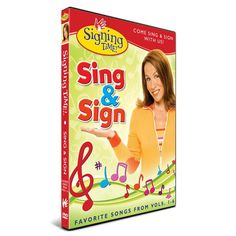 This is one of the most-requested products, and we're happy to finally bring it to you!Sing & Sign features Rachel Coleman signing thirteen of the most popular Signing Time songs from beginning to end. You'll learn all the ASL concepts you need to know in order to perform each song the whole way through!