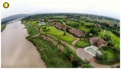 Bird Eye view of Barahi Jungle Lodge - #Chitwan , Nepal For information & bookings contact: Mr. Nischal (Kathmandu office) - Email: bjl@barahi.com, barahi@wlink.com.np Mobile: +977 9851093437 Mr. Abhay Sood (India office) – Email: salesdesk@pugdundeesafaris.com Mobile: +91 9718637711 For more details visit : www.barahijunglelodge.com