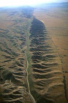 fallas geologicas en el mundo san andreas