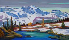 Nicholas Bott: New Works — Madrona Gallery Landscape Quilts, Landscape Art, Landscape Paintings, Oil Paintings, Landscapes, Canadian Painters, Canadian Artists, Mountain Pictures, Van Gogh Art