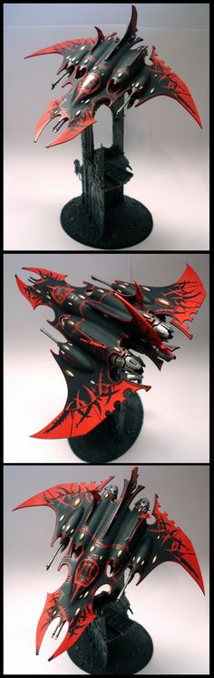 My Dark Eldar Razorwing Jetfighter by Thira-Evenstar