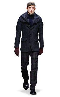 Ermenegildo Zegna Couture: Fall Winter 2014-15 Fashion Show by Stefano Pilati – Look 22