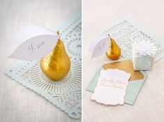 gold & mint inspiration by wedding concepts