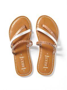 SILMardi Gras Sandals by Roxy - TOP1