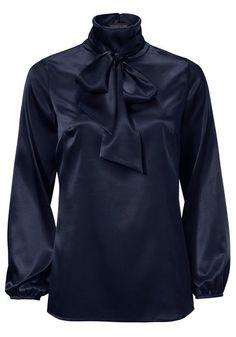 Koop heine TIMELESS - Zijden blouse in de heine online-shop Ashley Brooke, Heine, Elegant, Athletic, Classic, Long Sleeve, Sleeves, Jackets, Shirts