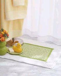 Handicrafter alfombra de baño de algodón