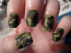 Camo nails!!