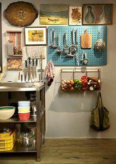 #cozinha #organização #decoracao #utensílios #cestadefrutas