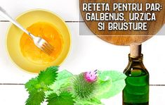 Reteta pentru par: galbenu, urzica si brusture   LaTAIFAS Ethnic Recipes, Food, Essen, Meals, Yemek, Eten