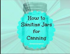 Your preserved food is only as safe and sanitary as the vessels you put it in. You don't need to sterilize jars before canning but you do need to sanitize jars. Canning Pressure Cooker, Oven Canning, Canning Tips, Canning Recipes, Pressure Cooking, Pickle Jars, Jelly Jars, Sterilizing Canning Jars, Canning Vegetables