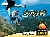 Soaring Eagle Zipline at Rushmore Cave - South Dakota Tourism