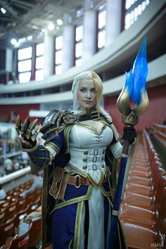 Cosplay Ideas New costume - Jaina from Battle for Azeroth by Narga-Lifestream - Warcraft Art, World Of Warcraft, Amazing Cosplay, Best Cosplay, Ps Wallpaper, Jaina Proudmoore, Armor Clothing, Heroes Of The Storm, Steampunk Cosplay