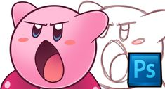 Tutorial: Basic Photoshop/Drawing + Kirby Tutorial [PS CS6] - YouTube
