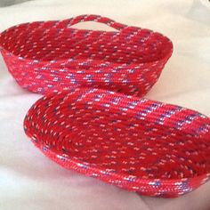 4/18/15 Lowes rope Christmas bowls.