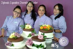 3a. Generación #180°CakeSchool #cursos #decorador