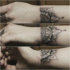 mandala wrist tattoo - Google zoeken