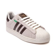 The shoes he wants! Mens adidas Superstar Hemp Athletic Shoe, Tan Chocolate | Journeys Shoes