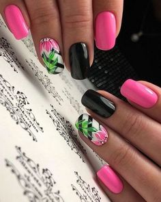 Pour ongle About this pin; 221 Related posts: Beautiful Nail Art Designs for Summer 2019 – Page 9 of 23 Awesome 23 Cute Nail Art Designs To Try In 2017 23 Ombre Nail Designs That You Have to Try This Summer Bright Summer Nails, Cute Summer Nails, Spring Nails, Cute Nails, Pretty Nails, Nail Summer, Bright Nail Art, Colorful Nail, Cute Summer Nail Designs
