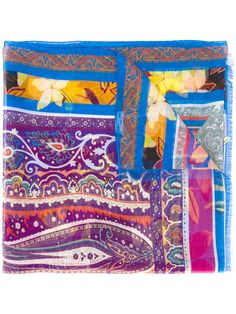 Shop Etro printed scarf .