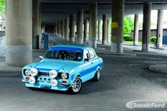 Classic Ford Magazine feature Ford Escort Cosworth - that is perfect! One of my dream cars right there! Escort Mk1, Ford Escort, Ford Rs, Car Ford, Gt Turbo, Ford Sierra, Cars Uk, British Sports Cars, Ford Classic Cars