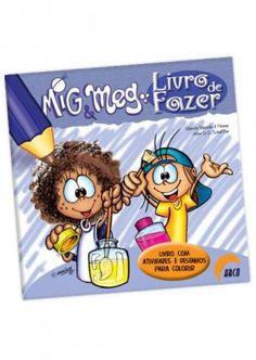 Além dos desenhos para colorir, os Livros de Fazer convidam a criança a interagir com a história, de forma criativa e divertida...