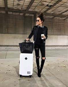 Airport style ✈️ Kids had a few days off of school and we are off for the long weekend! http://liketk.it/2pr6S @liketoknow.it #liketkit