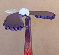 BALANCING EAGLE it balances. It can be tipped and turned without falling. via Vintage European Wood toy plans plus free plans