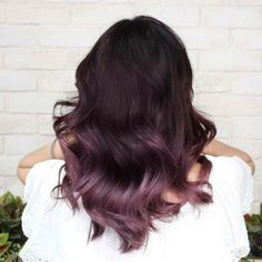 Lavender Hair Colors, Lilac Hair, Hair Dye Colors, Cool Hair Color, Dark Pink Hair, Rides Front, Balayage Hair, Haircolor, Dye My Hair