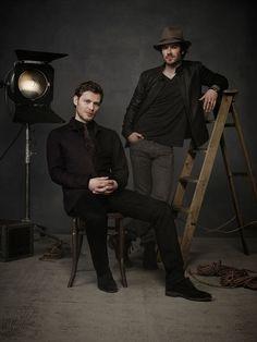 Joseph Morgan e Ian Somerhalder