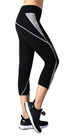 Women's Athletic Pants - Neonysweets Womens Capri Workout Pants Yoga Pants Active Running Leggings >>> Want additional info? Click on the image.