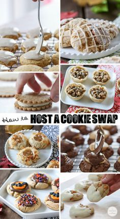 How To Host A Cookie Swap - great tips for a perfect party!