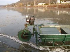 shanty boats | Scratcher Ice Boat- Late and Early Ice Machine!