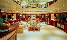 inside Million Dollar Yachts