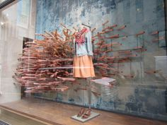 Anthropologie sea world windows, New York visual merchandising