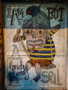 Signor Gi || Tel Aviv street art guide || Read my blogpost here: http://www.blocal-travel.com/street-art/tel-aviv-street-art-guide/ #streetart #israel #telaviv