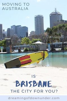 Find out if Brisbane living is for you with this overview of Brisbane city lifestyle, property, weather and more! #expat #australia #brisbane Brisbane Beach, Brisbane River, Brisbane Cbd, Perth, Coast Australia, Queensland Australia, Western Australia, Brisbane Queensland, Moving To Australia