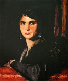 Le Prince Lointain: Robert Henri (1865-1929), Anita Martinez - 1924
