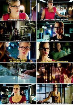 Arrow - Felicity Smoak #3.10 #Season3 <3
