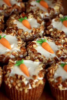 Carrot Cake cupcakes - simple and cute