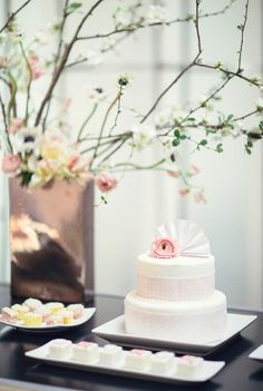 Japanese Wedding | #RealWedding | Jennifer Fujikawa Photography | Floral Arrangement