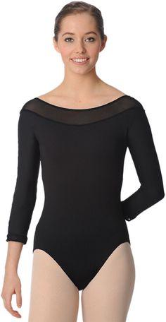 Juliet 3/4 Sleeve Leotard - Gaynor Minden Adult - Dancewear Centre Canada Online