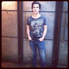 Mr. Kelly Jones, lead singer of Stereophonics, showed his support for the All Saints Spitalfields | Not For Sale campaign! Get your Belles Cut Collar T-shirt here: www.allsaints.com/men/graphic_t-shirts
