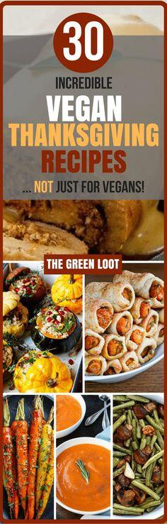 Vegan Thanksgiving Dinner Recipes (Main Dish+Sides)