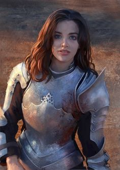 Woman Knight | ArtStation - Armor study, Mandy Jurgens