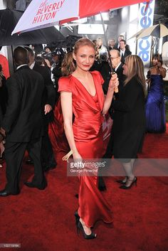 Actress Cameron Diaz arrives at the 67th Annual Golden Globe Awards at The Beverly Hilton Hotel on January 17, 2010 in Beverly Hills, California.