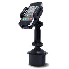 Satechi Cup Holder Mount for Smartphones & Tablets, Black