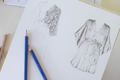 Drawing Fabric: 4 Fashion Illustration Tips for Artists and Fashion Designers