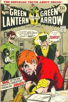 Green Lantern (Green Arrow) Vol.2 #85, August 1975. Cover by Neal Adams.