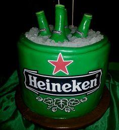 Heineken cake by A. S.